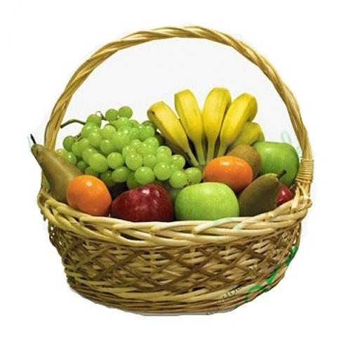 Купить на заказ Заказать Корзина с фруктами 4 с доставкой по Атырау с доставкой в Атырау