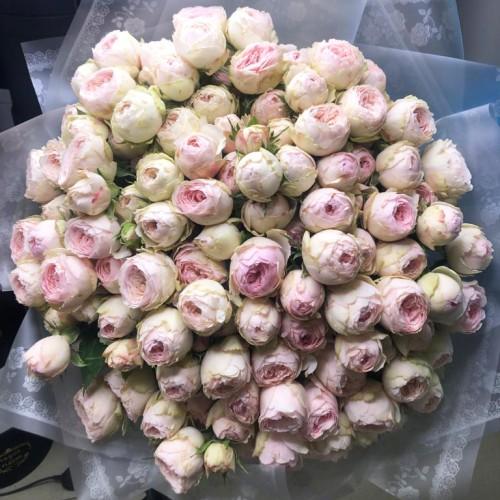 Купить на заказ Заказать 101 пионовидные розы с доставкой по Атырау с доставкой в Атырау