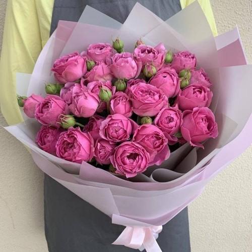 Купить на заказ Заказать 25 пионовидных роз с доставкой по Атырау с доставкой в Атырау