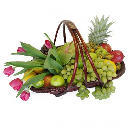 Купить на заказ Заказать Корзина с фруктами 3 с доставкой по Атырау с доставкой в Атырау